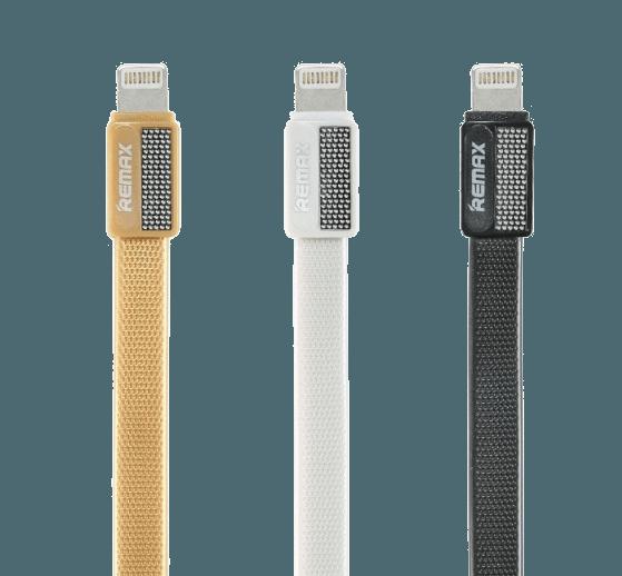 USB Кабель REMAX Metal PLATINUM (RC-044A) Черный
