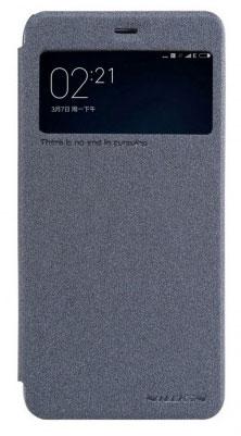 Чехол книжка NillKin Sparkle Leather для Xiaomi Mi5S (Черный)