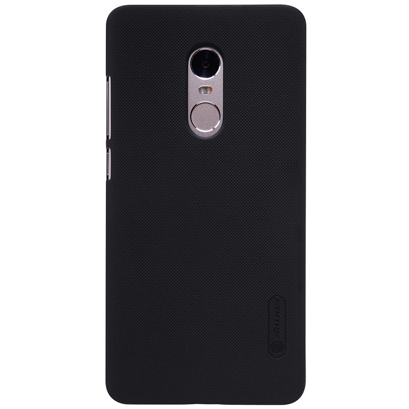 Чехол NillKin Super Frosted Shield для Xiaomi Redmi Note 4 (Черный)