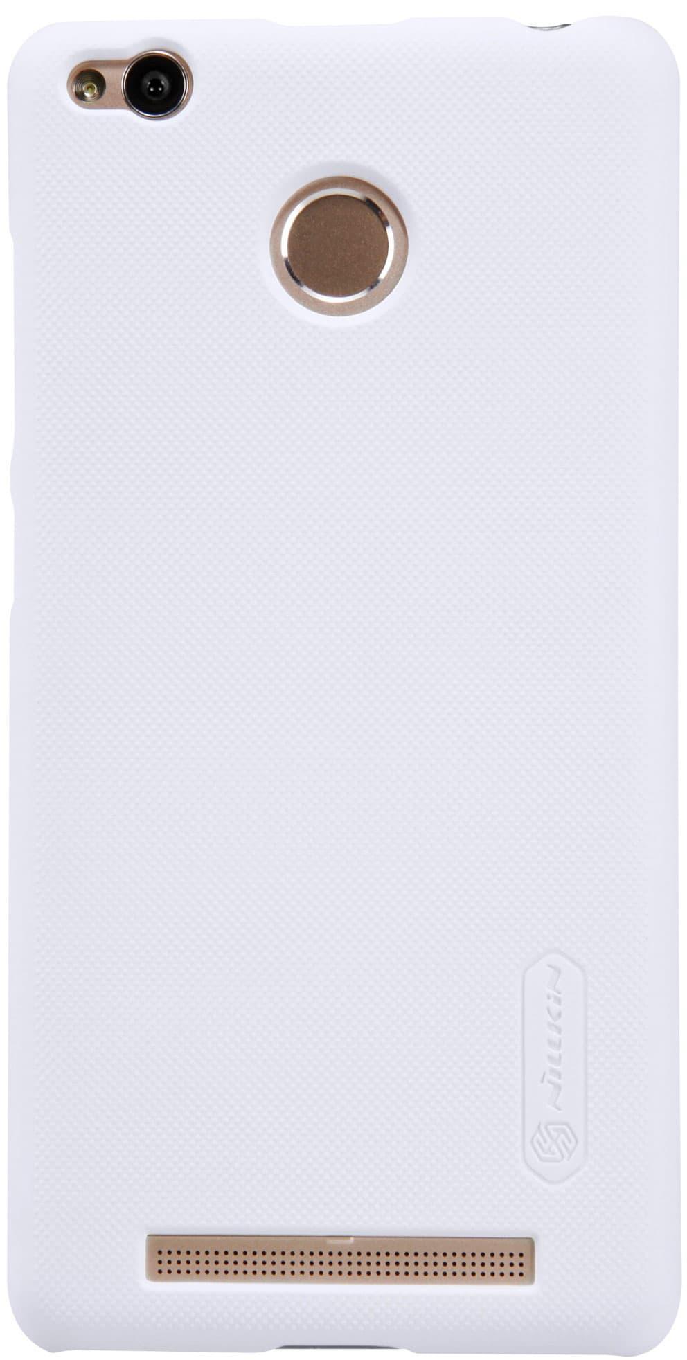 Чехол NillKin Super Frosted Shield для Xiaomi Redmi 3S (Белый)