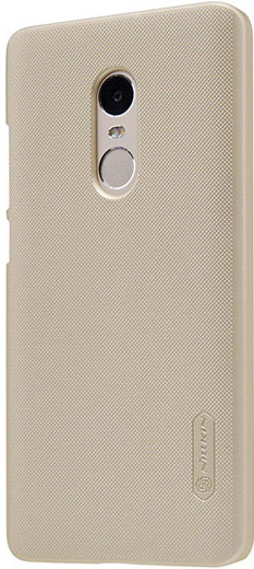 Чехол NillKin Super Frosted Shield для Xiaomi Redmi Note 4 (Золотой)