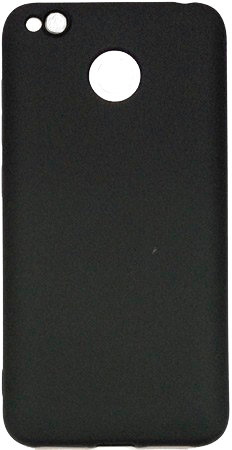Силиконовый чехол к Xiaomi Redmi 4X Black