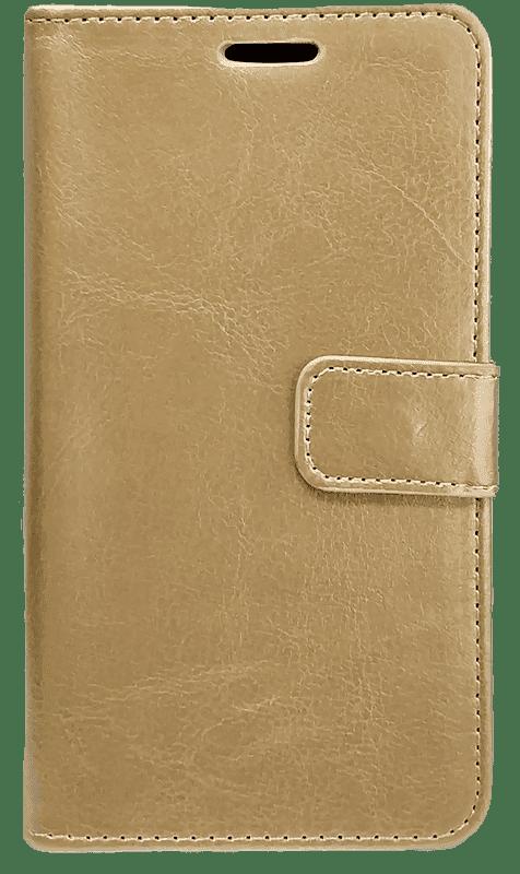 Чехол книжка для Xiaomi Redmi 4x (Золотой)