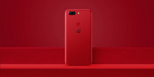 продажи OnePlus 5T Lava Red