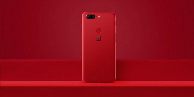 продажи OnePlus 5T Lava Red