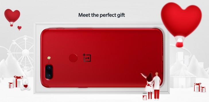 OnePlus 5T Lava Red выпуск