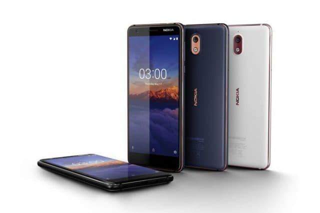 аппарат Nokia 3.1