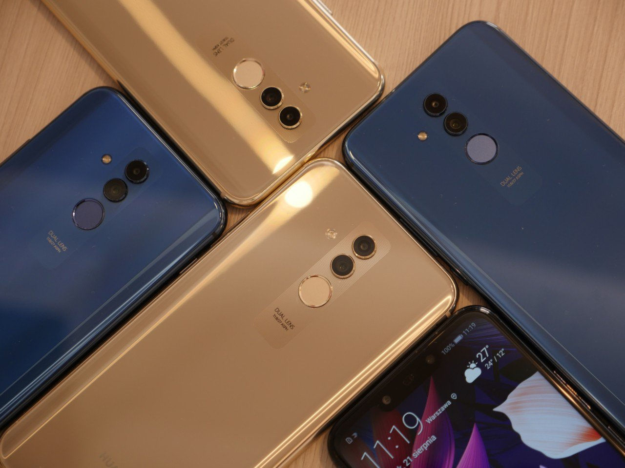 продажи Huawei Mate 20 Lite