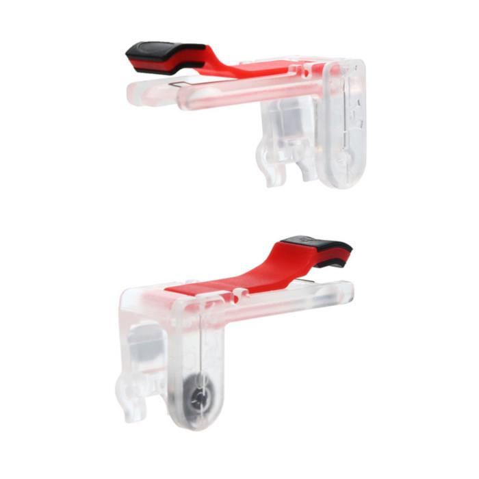 Игровые стики M24 для мобильного телефона (бело-красный)