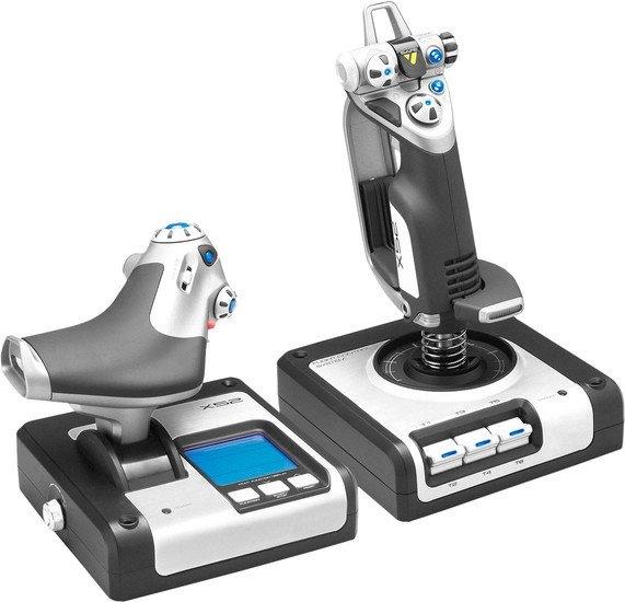Оборудование для авиасимов Logitech X52 Flight Control System