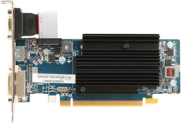 Видеокарта Sapphire R5 230 2GB DDR3 (11233-02)