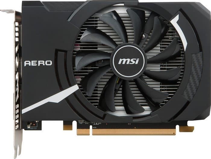 Видеокарта MSI Radeon RX 550 Aero ITX OC 2GB GDDR5 [RX 550 AERO ITX 2G OC]