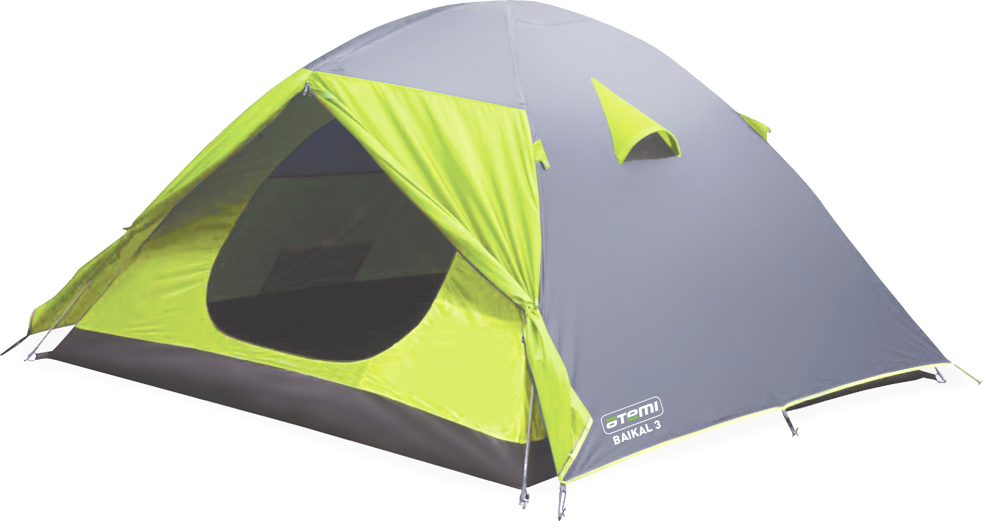 Треккинговая палатка Палатка Atemi Baikal 2 CX