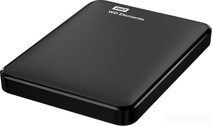 Внешний накопитель WD Elements Portable 1TB (WDBUZG0010BBK)