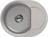 Кухонная мойка Elleci Easy Round 600 Aluminium 79