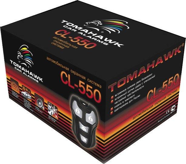 Автосигнализация Tomahawk CL-550