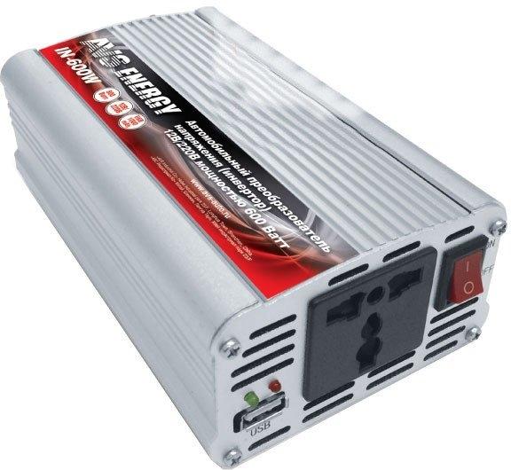 Автомобильный инвертор AVS 12/220V IN-600W