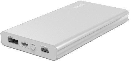 Портативное зарядное устройство Ritmix RPB-10977PQC (серебристый)