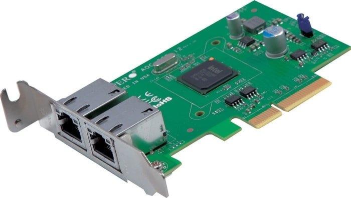 Сетевой адаптер Supermicro AOC-SGP-I2