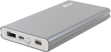 Портативное зарядное устройство Ritmix RPB-10977PQC (серый)