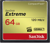 Карта памяти SanDisk Extreme CompactFlash 64GB [SDCFXSB-064G-G46]