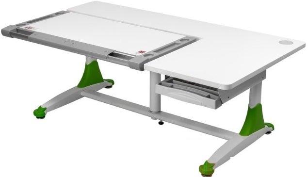 Парта Comf-Pro King Desk (белый/зеленый)