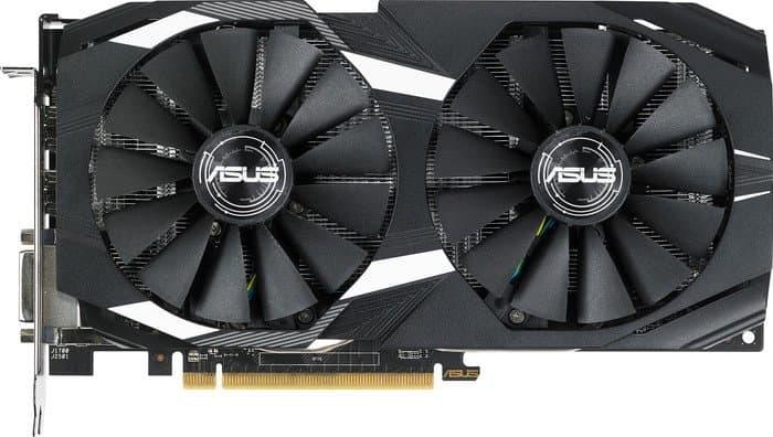 Видеокарта ASUS Radeon RX 580 OC Edition 8GB GDDR5