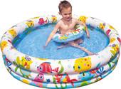 Надувной бассейн Intex Fishbowl 132×28 (59469)