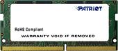 Оперативная память Patriot 8GB DDR4 SODIMM PS4-17000 [PSD48G213381S]