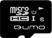 Карта памяти QUMO microSDHC (UHS-1) 16GB (QM16GMICSDHC10U1)