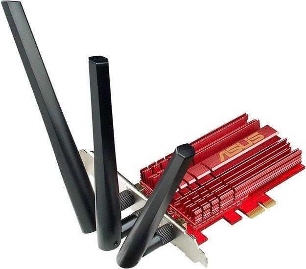 Wi-Fi адаптер Беспроводной адаптер ASUS PCE-AC68
