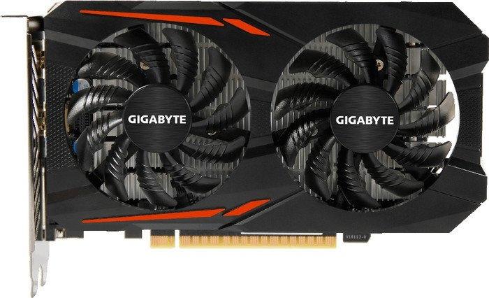 Видеокарта Gigabyte GeForce GTX 1050 Ti OC 4GB GDDR5 [GV-N105TOC-4GD]