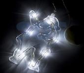 3D-фигура Neon-night Санта Клаус на присоске с подвесом [501-018]