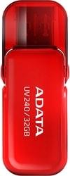 USB Flash A-Data UV240 32GB (красный)