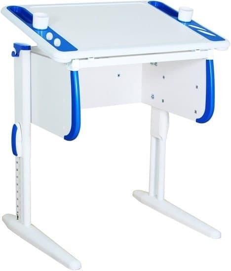 Парта Дэми White-Techno Mini Сут-26 (белый/синий)