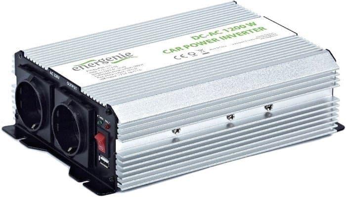 Автомобильный инвертор Gembird EG-PWC-035 1200W