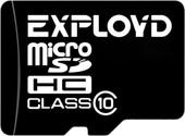 Карта памяти Exployd microSDHC (Class 10) 16GB [EX0016GCSDHC10-W/A-AD]
