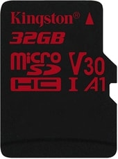 Карта памяти Карта памяти Kingston Canvas React SDCR/32GBSP microSDHC 32GB