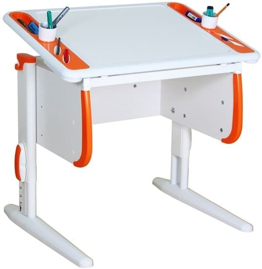 Парта Дэми White-Techno Mini Сут-26 (белый/оранжевый)