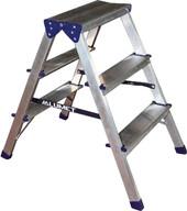 Лестница-стремянка Алюмет алюминиевая двухсторонняя A7205