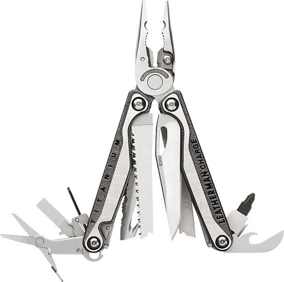 Мультитул Leatherman Charge Plus TTi (серый)