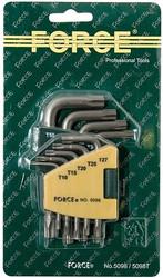 Набор ключей Force 5098 9 предметов