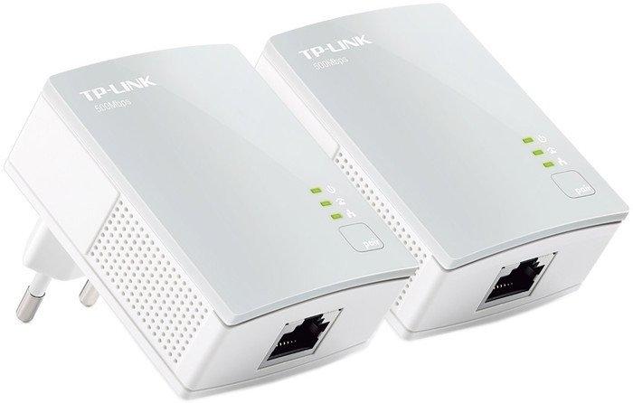 Комплект powerline-адаптеров Комплект из двух powerline-адаптеров TP-Link TL-PA4010KIT