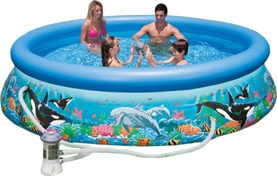 Надувной бассейн Надувной бассейн Intex Ocean Reef Easy Set 366x76 (54906/28136)