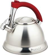 Чайник со свистком KELLI KL-4306 (красный)