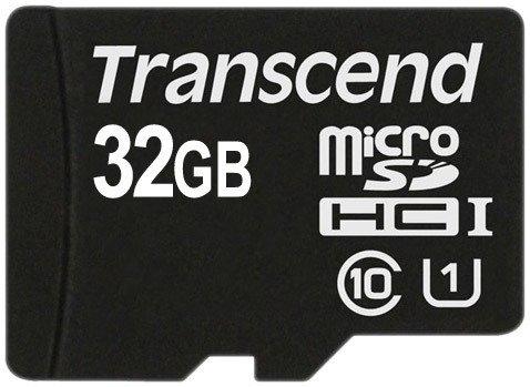 Карта памяти Transcend microSDHC Class 10 UHS-I 32GB (TS32GUSDCU1)