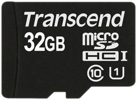 Карта памяти Карта памяти Transcend microSDHC Class 10 UHS-I 32GB (TS32GUSDCU1)
