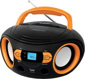 Портативная аудиосистема BBK BS15BT (черный/оранжевый)
