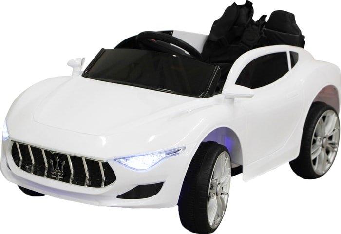 Электромобиль Sundays Maserati GT (белый)