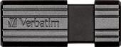 USB Flash Verbatim PinStripe черный 16 Гб (49063)